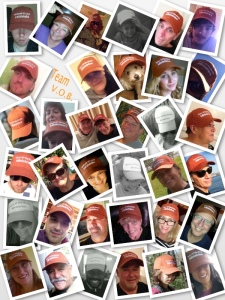 "Some of our partners on Facebook participated in ""Profile pic wearing your VOB hat"" day this past month."