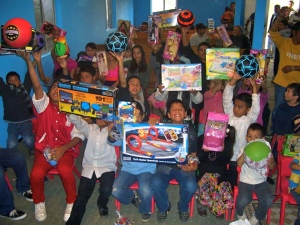 "We had another successful ""Toys for Tijuana"" drive!"