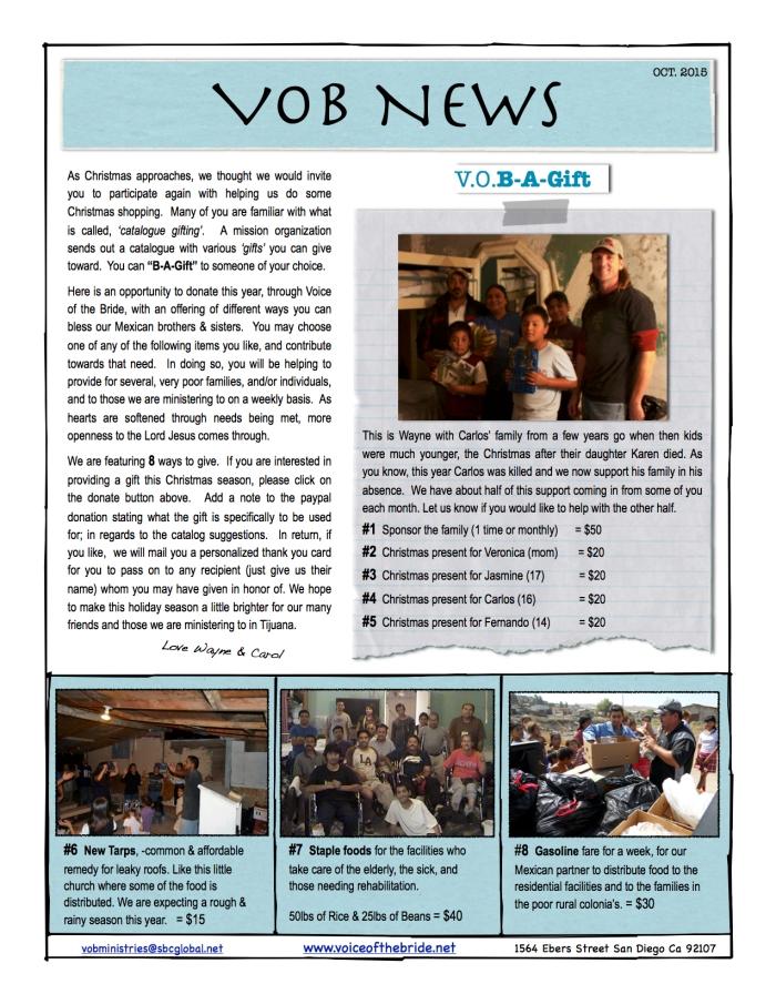 15 VOB News October