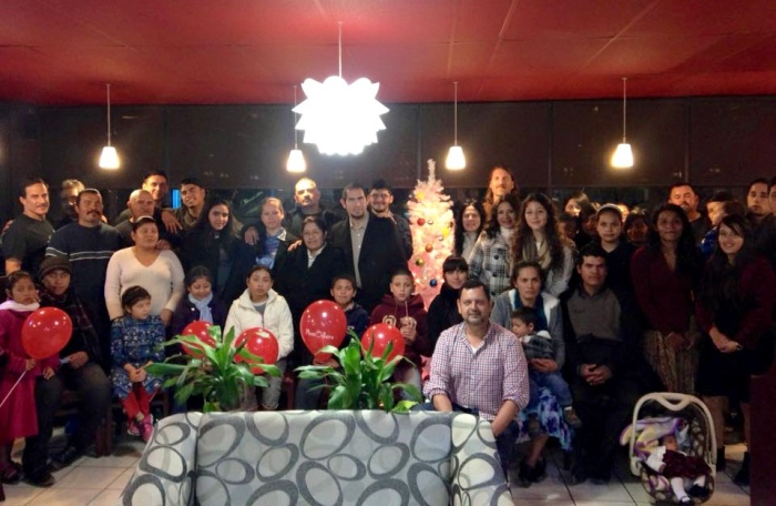 Another team photo at our 6th annual traditional American Thanksgiving dinner hosted at our friends restaurant. in Tijuana. This year there were 40 of us around the table! Our team has grown to an amazing bunch of servants for The Lord. There are 5 ministries represented here that birthed out of a handful of us taking the time to extend a hand to someone else in need! Thank you for helping us extend God's many hands!