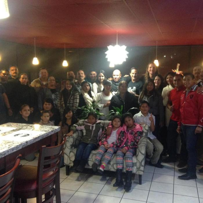 This years team photo at our 7th annual traditional American Thanksgiving dinner hosted at our friends restaurant. in TJ. I know photos look the same each year but we do have a faithful and consistent team.